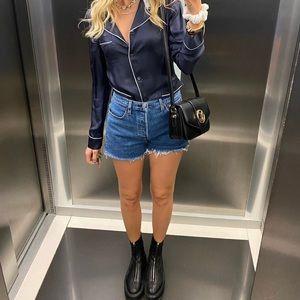 Levi's Shorts - Levi's high waisted distressed denim jean shorts
